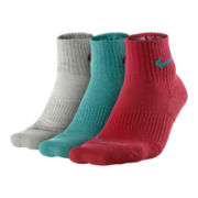 Nike® 3–pk. Dri–FIT Quarter Socks–Big & Tall