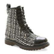 UNIONBAY® Edgard Tweed Boots