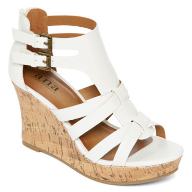 jcpenney.com | a.n.a® Molly Wedge Sandals