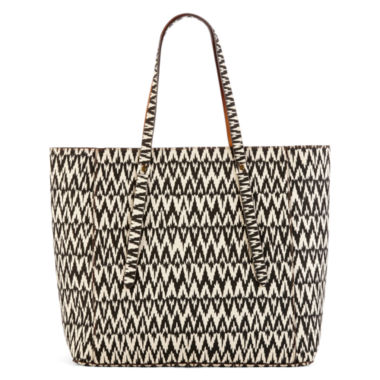 jcpenney.com | T-Shirt and Jeans™ Easy Street 2.0 Printed Tote Handbag