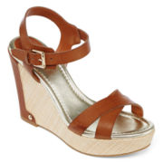 Liz Claiborne Cece Wedge Sandals
