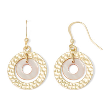 jcpenney.com | Mixit™ Shell Orbital Earrings