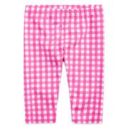 Okie Dokie® Gingham Capri Leggings - Toddler Girls 2t-5t