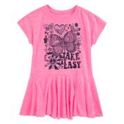 Arizona Short-Sleeve Tunic - Preschool Girls 4-6x