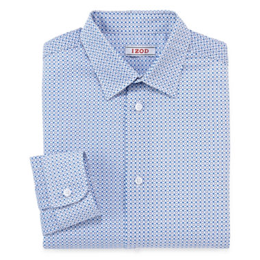 jcpenney.com | IZOD® Circle-Print Dress Shirt - Boys 8-20