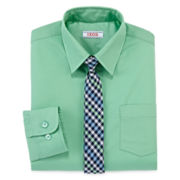 IZOD® Dress Shirt and Tie Set - Boys 8-20