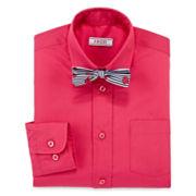 IZOD® Dress Shirt and Bow Tie Set - Boys 8-20