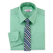 IZOD® Dress Shirt and Tie Set - Preschool Boys 4-7