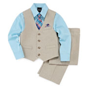 4-pc Vest Set - Boys 4-10