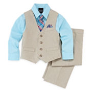 4-pc. Vest Set - Toddler Boys 2t-5t