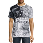 akademiks® Neptune Short-Sleeve Graphic T-Shirt