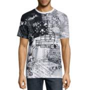 akademiks® Neptune Short-Sleeve Graphic T-Shirt