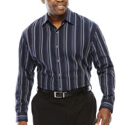 Van Heusen® Sateen Stripe Woven Shirt - Big & Tall
