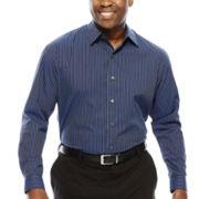 Van Heusen® Long-Sleeve Button-Front Shirt - Big & Tall