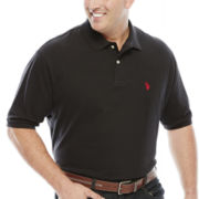 U.S. Polo Assn.® Solid Pique Polo - Big & Tall