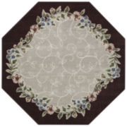 Romantica Washable Octagonal Rug
