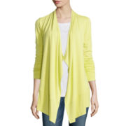 Liz Claiborne® Long-Sleeve Knit Cozy Cardigan