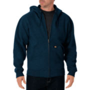 Dickies® Lightweight Fleece Zip Hoodie