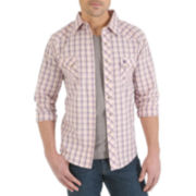 Wrangler® Long-Sleeve Western Jean Shirt