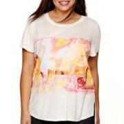 Arizona Short-Sleeve Graphic T-Shirt - Juniors Plus