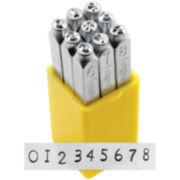 Metal Stamp Set—Numbers