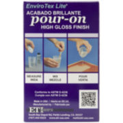 Enviro Tex Lite® Pour-On High-Gloss Finish
