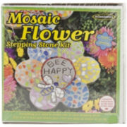 Milestones Mosaic Flower Stepping Stone Kit