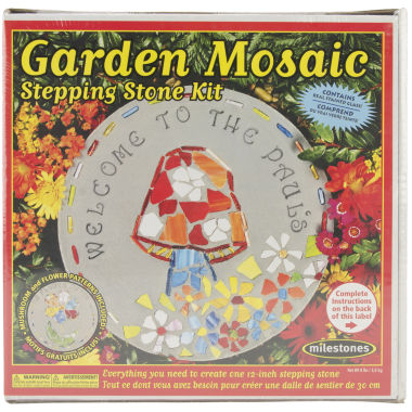 jcpenney.com | Milestones Garden Mosaic Stepping Stone Kit