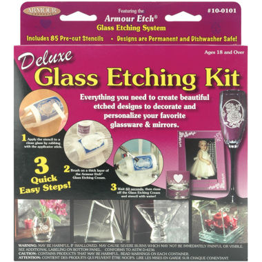 jcpenney.com | Deluxe Glass Etching Kit
