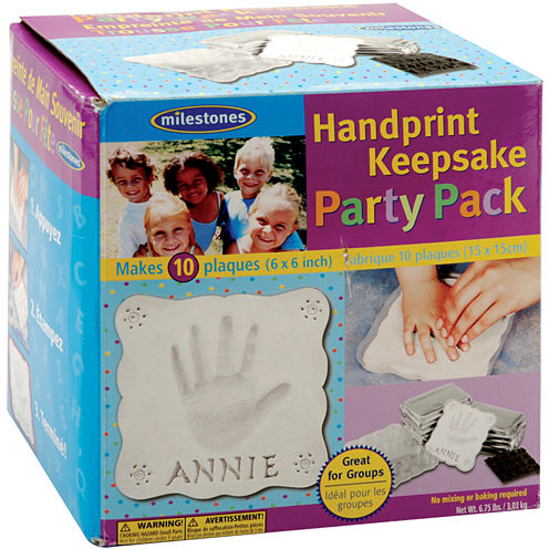 Milestones Handprint Keepsake Party Pack