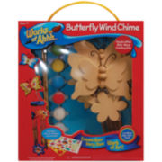 Works of Ahh Wood Paint Set – Butterfly Wind Chimes