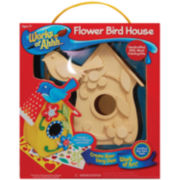 Works of Ahh Wood Paint Set – Flower Bird House