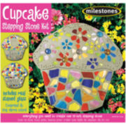 Milestones Cupcake Stepping Stone Kit
