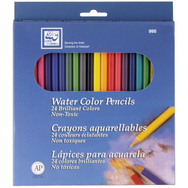 jcpenney.com | Watercolor Pencil Set, 24-pk.