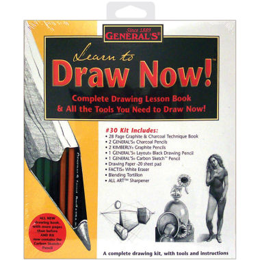 jcpenney.com | Learn To Draw Now Kit