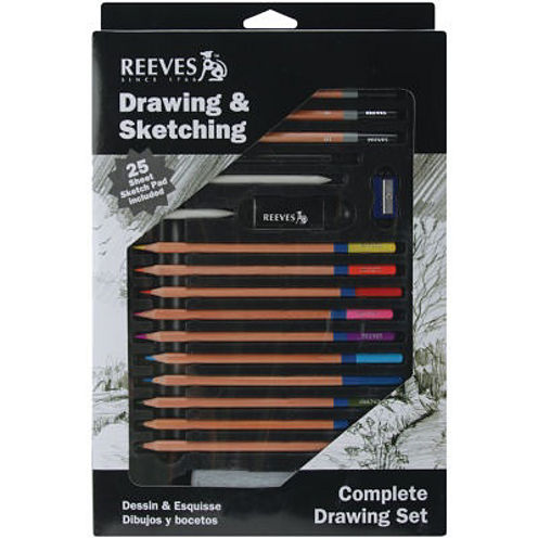 Complete Drawing & Sketching Set