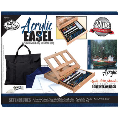 jcpenney.com | Acrylic Easel Art Set With Easy To Store Bag