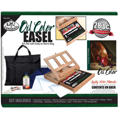 jcpenney.com | Oil Color Easel Art Set With Easy Store Bag