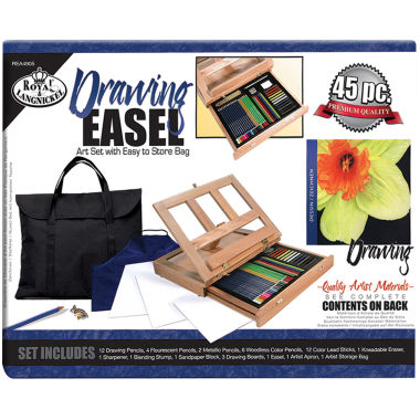 jcpenney.com | Easel Drawing Art Set With Easy To Store Bag