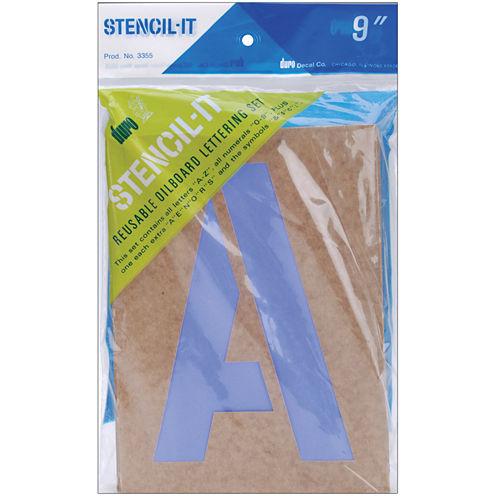 Stencil-It Reusable Lettering Stencil Set