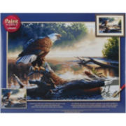 "Paint By Number Kit 20X14""- Eagle Hunter"