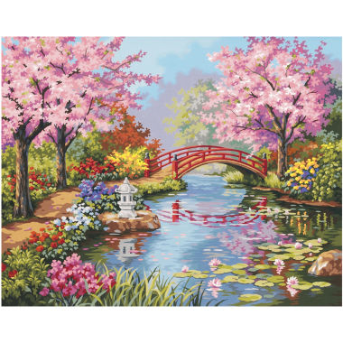 "jcpenney.com | Paint By Number Kit 20X16""- Japanese Garden"