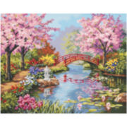 "Paint By Number Kit 20X16""- Japanese Garden"