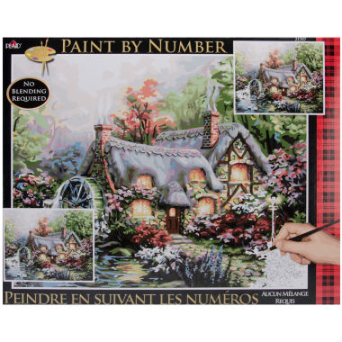 "jcpenney.com | 16x20"" Paint By Number Kit - Cottage Mill"