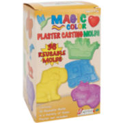 Magic Color Plaster Casting Molds-36 Designs