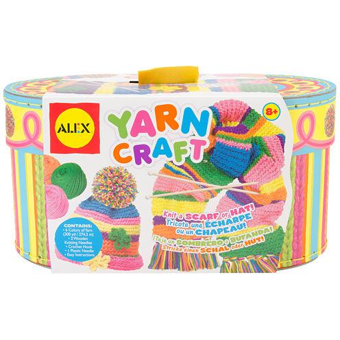 ALEX TOYS® Yarn Craft Set with Basket
