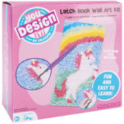 You Design It!™ Latch Hook Wall Art Set, Unicorn