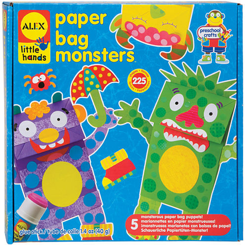 ALEX TOYS® Paper Bag Monsters Kit