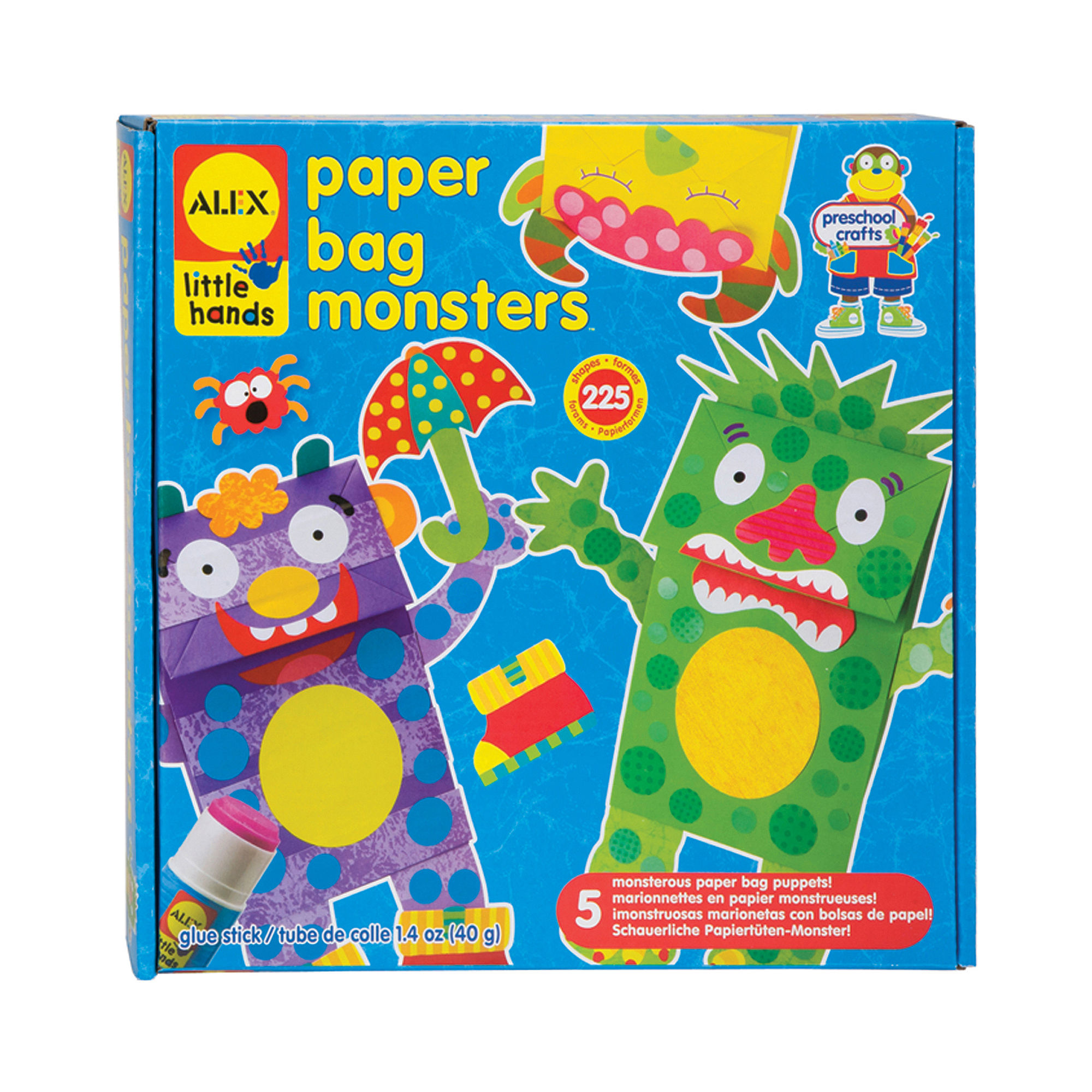 ALEX TOYS Paper Bag Monsters Kit