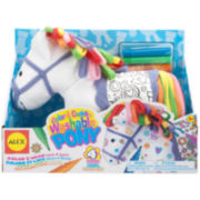ALEX TOYS® Color & Cuddle Washable Pony Kit